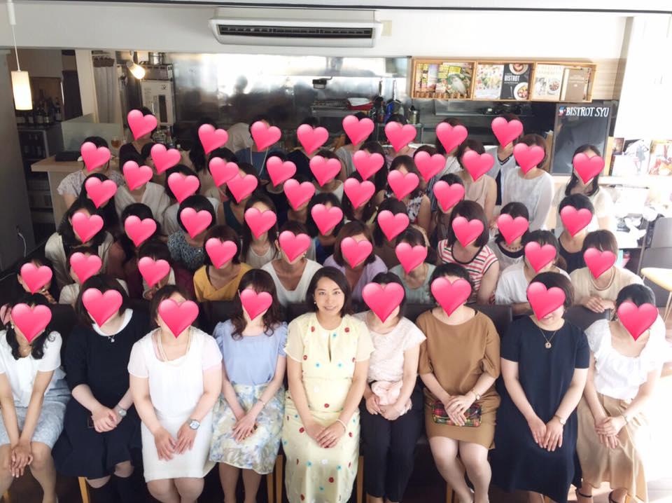澤口珠子レッスン生徒さまの同窓会パーティーを開催しました